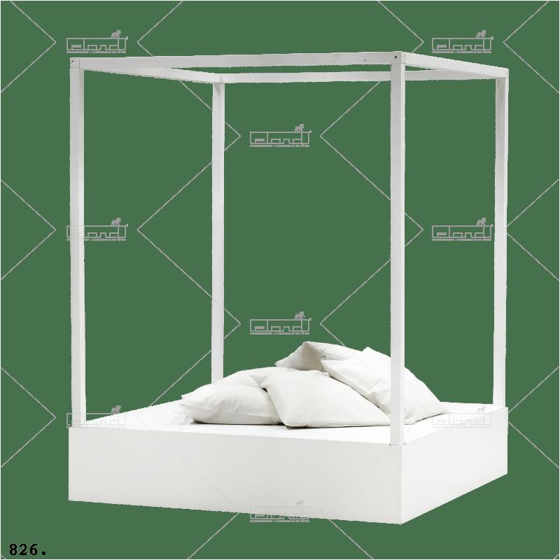 Eland® Lit Plage Blanc