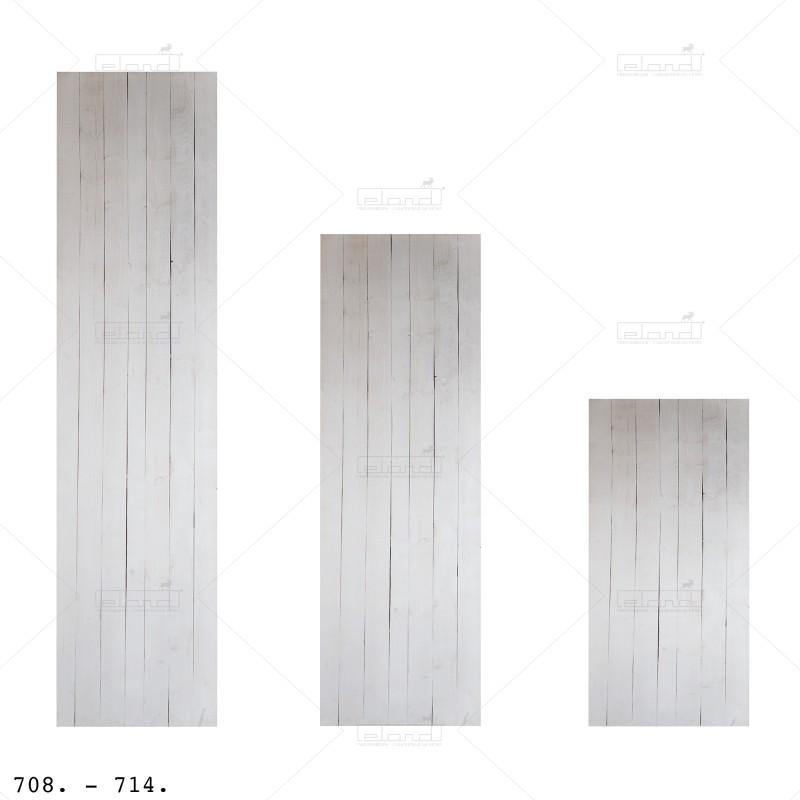 Eland® White Wooden Partition 100