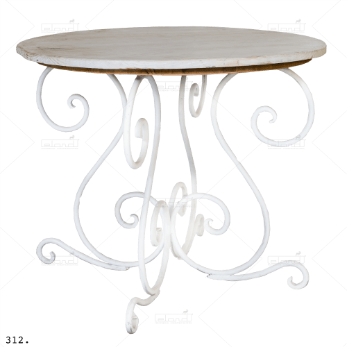 Fer Forgé Table Round ◇ Rent a table at ✷ Eland® ✷