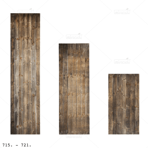 Greyed Wooden Partition 400 ◇ Rent a modular wall at ✷ Eland® ✷