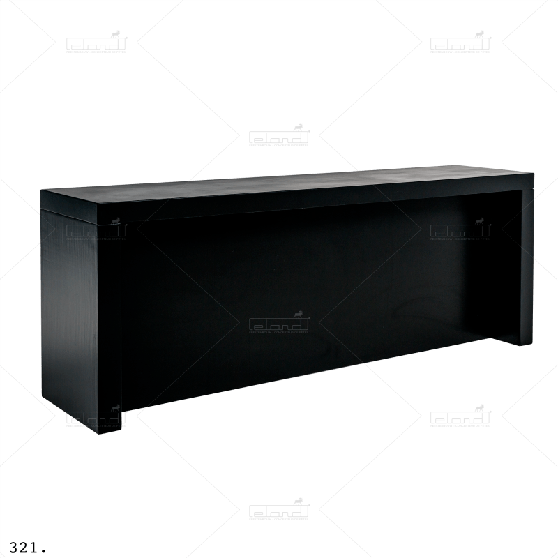 Eland® U-Table 300 Standing Buffet Black