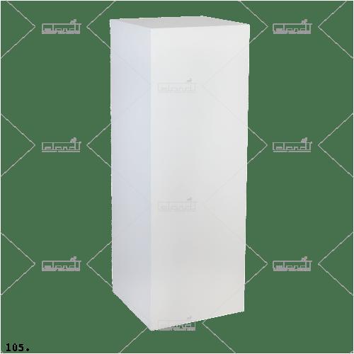 Pedestal 40-100 White ◇ Rent a pedestal at ✷ Eland® ✷