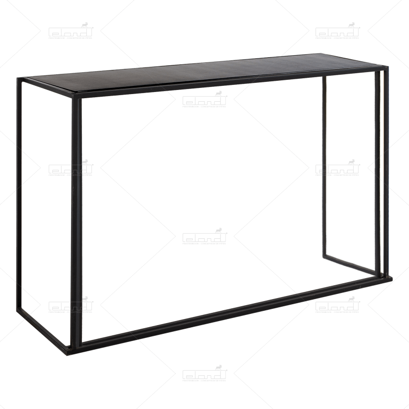 Eland® Empilabar Debout Noir