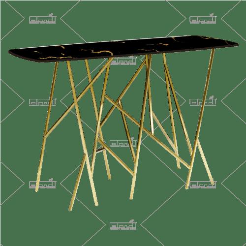 King Crab Marble 6 Long Black ◇ Tafels huren bij ✷ Eland® ✷