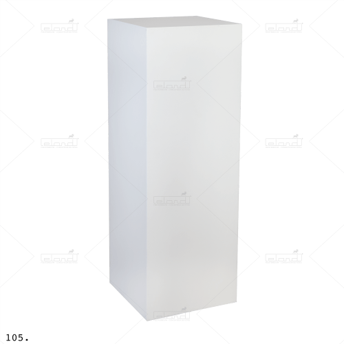 Pedestal 40-100 White ⎜ Buy a pedestal at Eland®