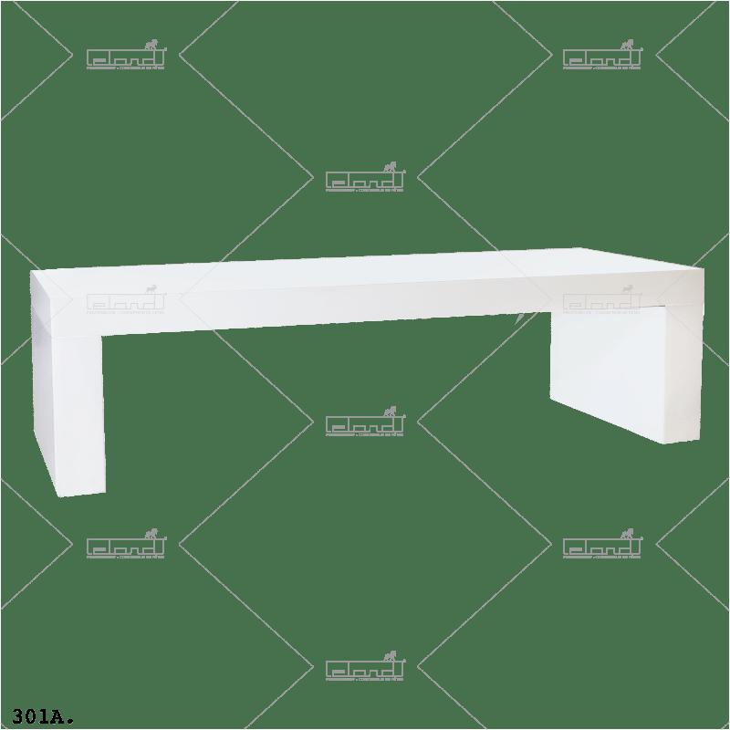 Eland® U-Table 180 Lounge White (Sale)