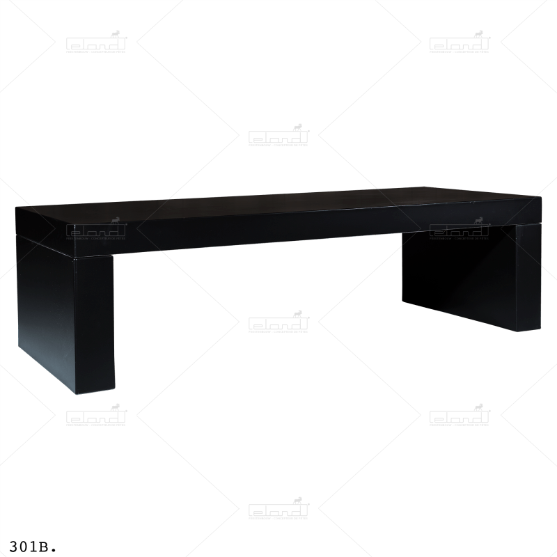 Eland® U-Table 180 Lounge Black (Sale)