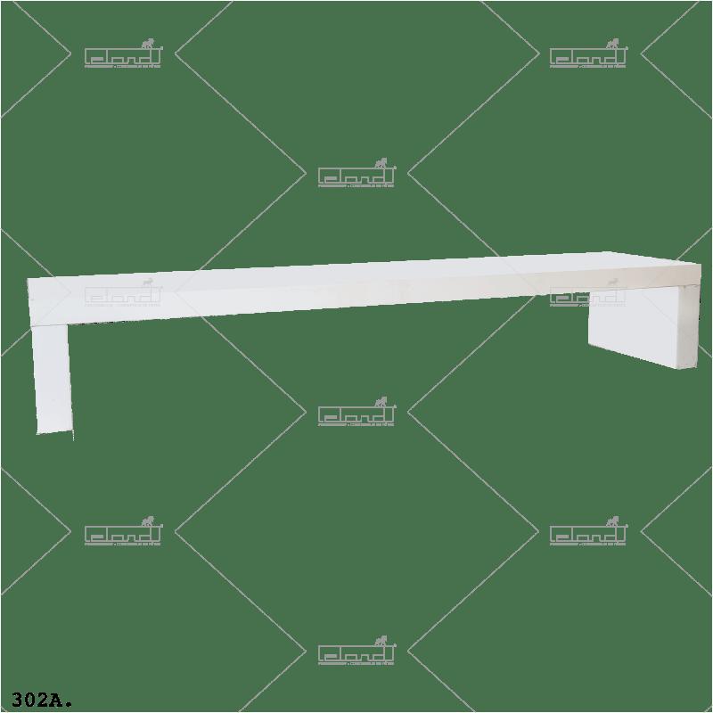 Eland® Table-U 300 Lounge White (Sale)