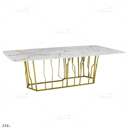 Metropol Marble 10 White ⎜ Buy a table at Eland®