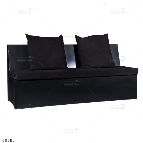 Bench Kubide Straight 200 Black ⎜ Buy a sofa at Eland®