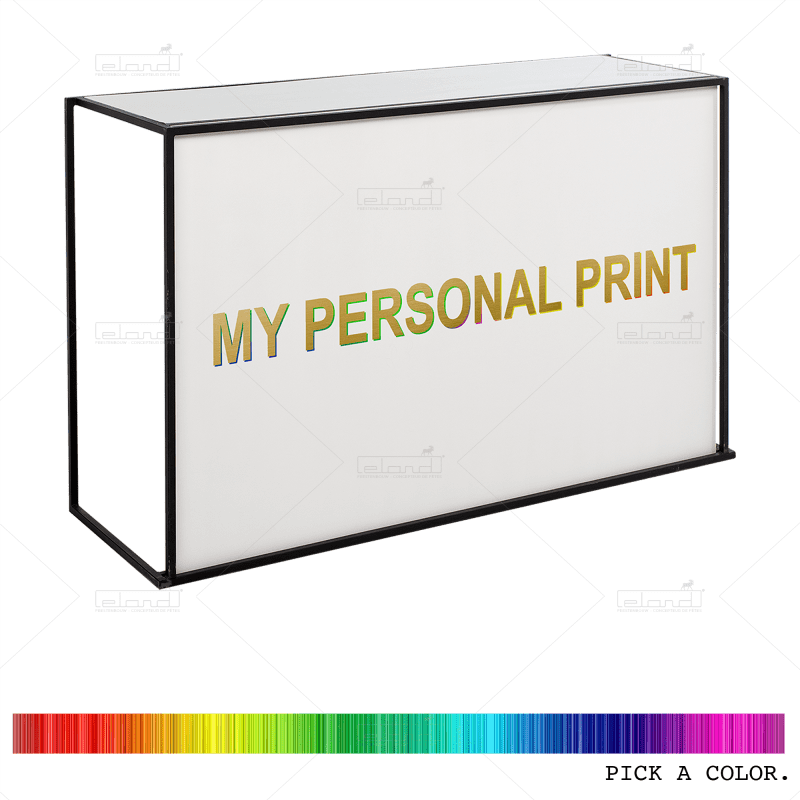 Eland® Stackabar Color with Personalized Print (Sale)