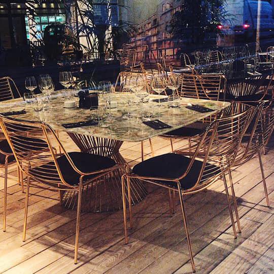 Pop-Up Beaux-Arts-Restaurant