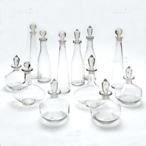 Decanters Mix (per 12)⎢Rent decoration⎢Eland®