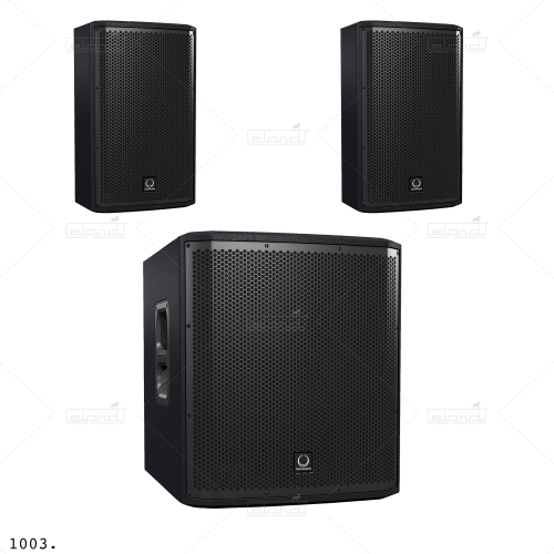 Turbosound iNSPIRE Set ◇ Rent a sound set at ✷ Eland® ✷